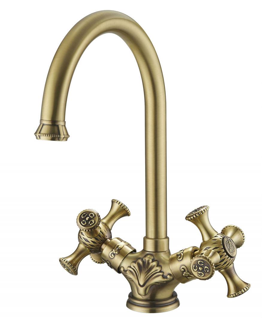 Купить смеситель бронза для кухни в спб сантехника смесители для ванной с душем