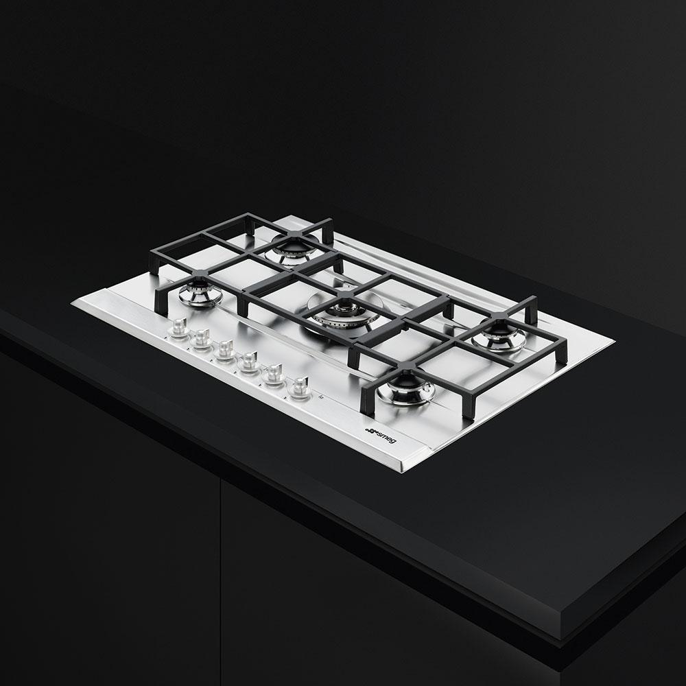 Варочная панель газовая Hansa BHGI63100012 серебристый