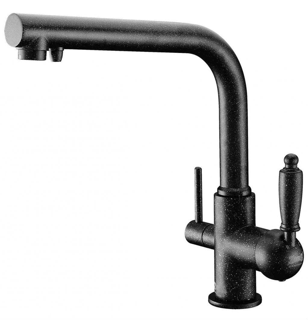 Смеситель для кухни черного цвета купить в Акриловая ванна 1MarKa Afrodita 150x150